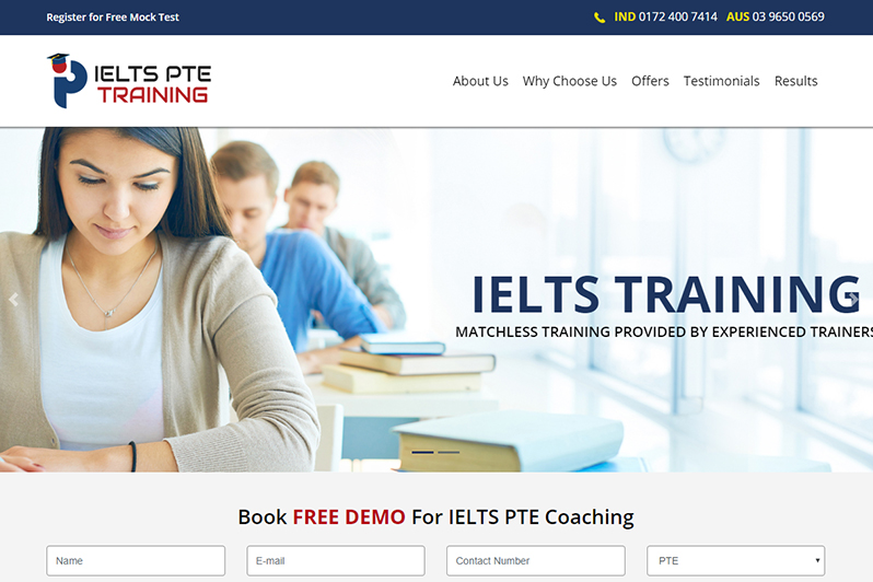 IELTS PTE TRAINING